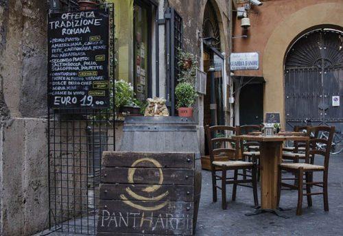 Roma Dónde Comer