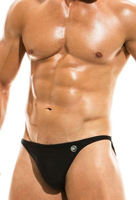 Slip Negro Mini Bodybuilding Bañador Modus Vivendi 54LARj
