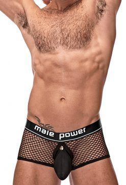 BOXER MALE POWER COCKPIT C-RING NEGRO